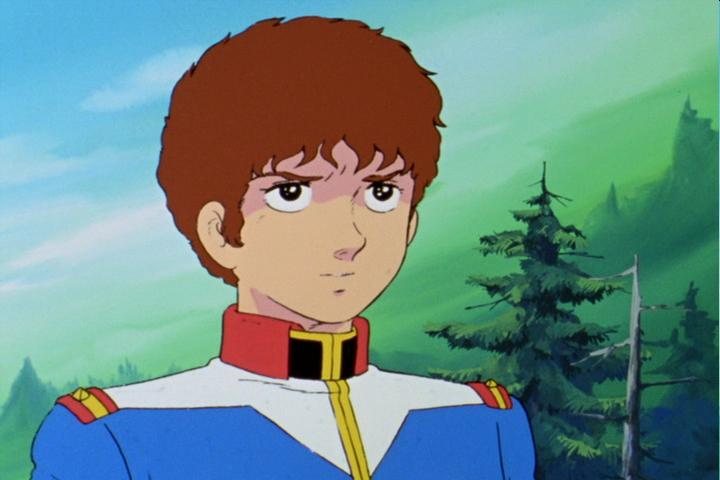 アムロ。子供の頃見た感想は子供の頃見た感想はカッコいいお兄ちゃん。大人になった俺が見た感想は、ひねくれたガキ。